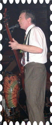 John Kirsch Bass Player for Seven7 Dance Band New Years Eve Modified by Huggy Bear